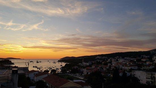 La Casa di Elisa: Vue sur mer le soir