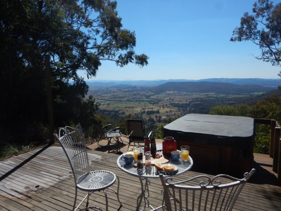 Vacy, Australia: Breakfast with a view!