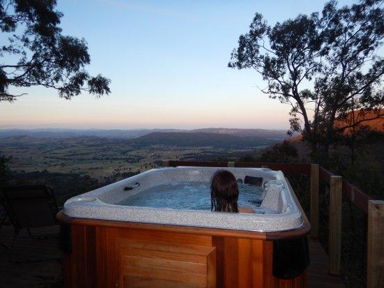 Vacy, Australien: Sunset spa at Jabiru