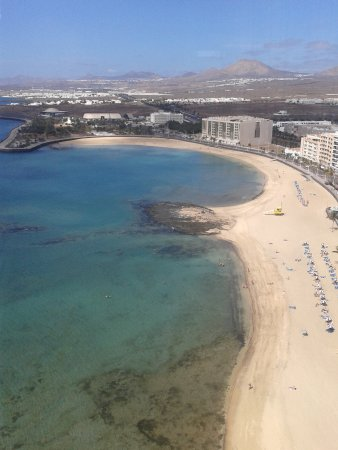 Arrecife Gran Hotel & SPA : View from 17th floor