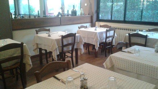 Gattico, Italia: Questa è la Rustica..le tovaglie dono sempre state di stoffa!!!!