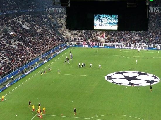 Juventus Stadium: Dalla curva Nord 2° anello