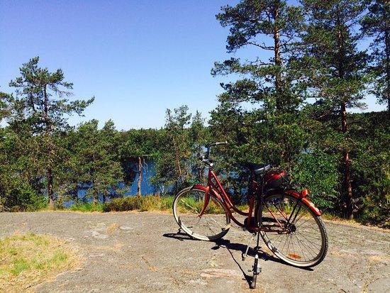Salo, فنلندا: Rannikkoreitti pyöräreitti menee Teijon kansallispuiston ohi Teijon ruukkikyliin 