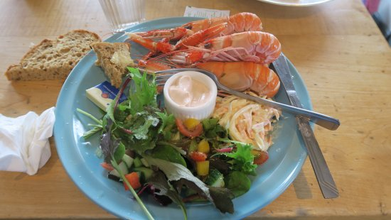 Shieldaig, UK: First rate langoustines