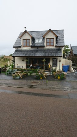 Shieldaig, UK: Inviting Nanny's restaurant