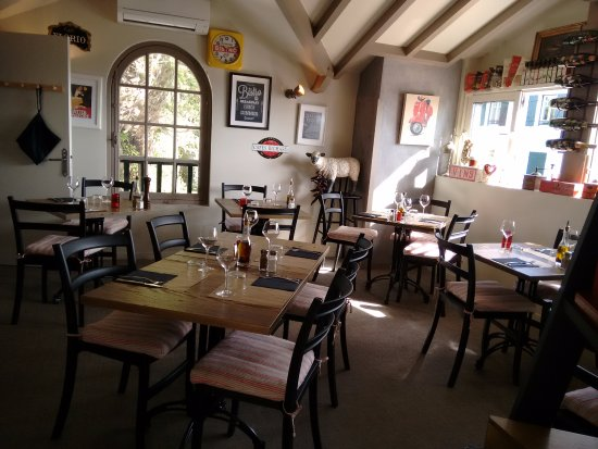 La Pizzeria de Bidart : La salle intérieure