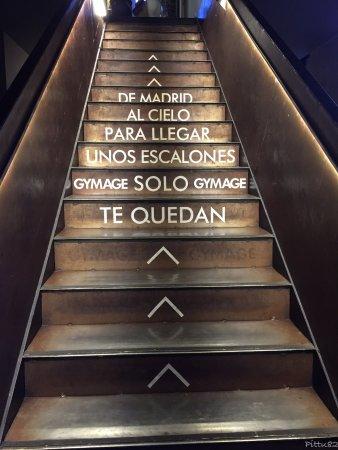 Foto De Gymage Terrace Madrid Escaleras Subida Terraza