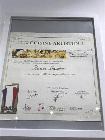 Villeurbanne, Francia: Cuisine en Ville est un restaurant gastronomique conçu par le Chef Karim Boukhari pour promouvoi