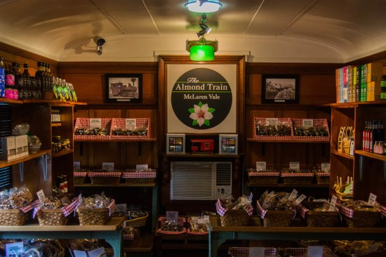 Hahndorf, Australia: Inside the carriage at the Almond Train Mclaren Vale