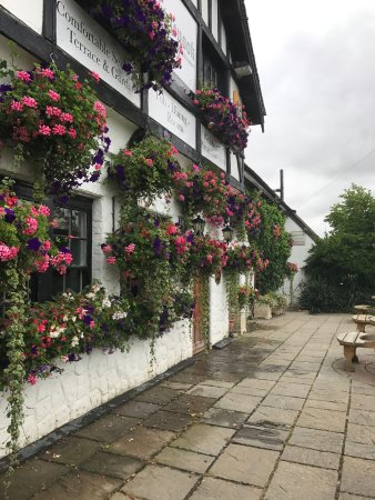 The Inglenook Hotel & Restaurant: View across the front
