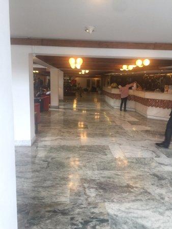 Hotel Annapurna: Reception Area