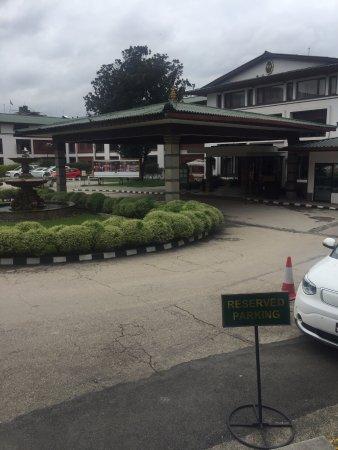 Hotel Annapurna: Porch
