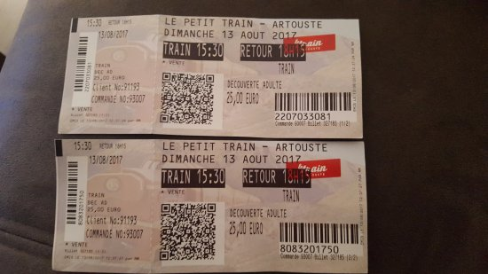 "Le Train d'Artouste : LAS ENTRADAS ""ALGO CARAS"""