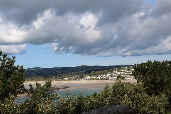 Marazion, UK: View across the bay