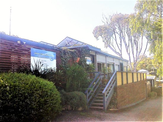 On site Office and Reception at Aireys Inlet Getaway Resort [August 2017]