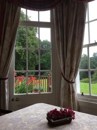 Walkerburn, UK: View from Breakfast room