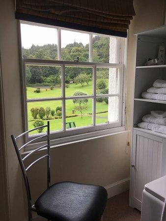 Walkerburn, UK: View from Bathroom