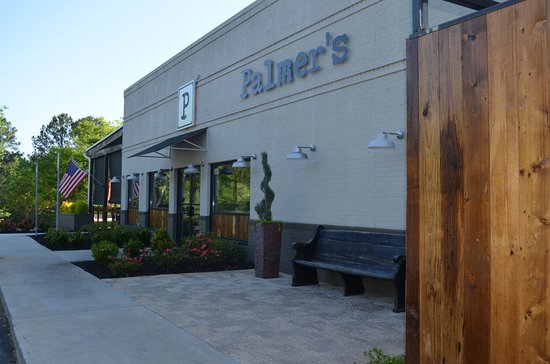 Peachtree City, GA: The front of Palmer's