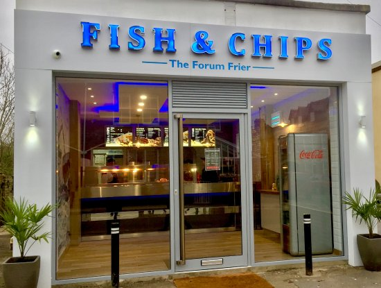 Blandford Forum, UK: Complete refurb in March 2017 - come and try the finest Fish and Chips in Dorset