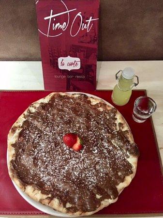 Pully, Ελβετία: Pizza à la Nutella