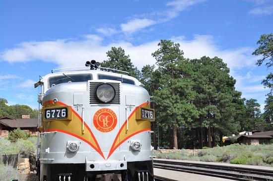 Williams, AZ: Train