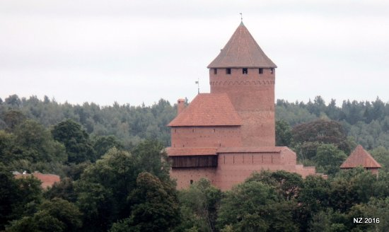 Sigulda, Latvia: This was taken with my zoom lense from the tower.