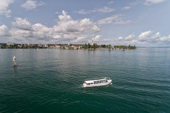 Romanshorn, سويسرا: Fahrt in und um den Romanshorner Hafen
