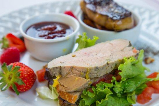 Terrine de foie gras foie po l confiture maison picture of le resinier le barp tripadvisor - Foie gras maison en terrine ...