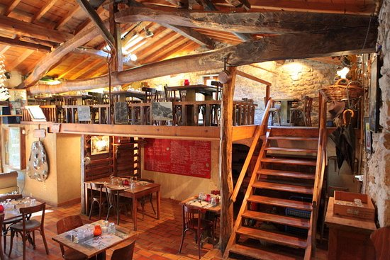 le restaurant picture of le moulin de la pipe ombleze tripadvisor. Black Bedroom Furniture Sets. Home Design Ideas