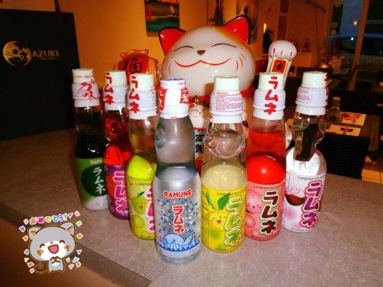 Macon, France: Découvrez les limonades japonaises : Nature, Matcha, Framboise, Pomme, Litchi et Pêche
