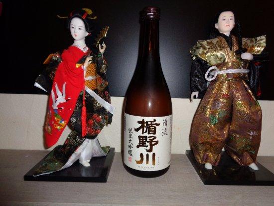 Macon, France: Un vrai voyage culinaire vous attends avec de véritables vins de sakés japonais.