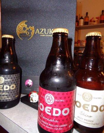 Macon, France: Les bières japonaises artisanales sont à l'honneur : Blanche, Blonde, Brune et Ambrée !
