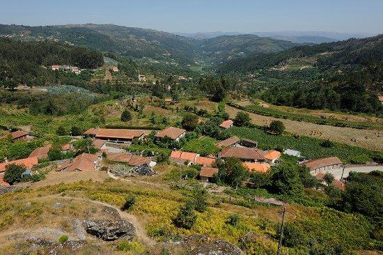 Celorico de Basto, البرتغال: Castelo de Arnoia | Vista panorâmica 
