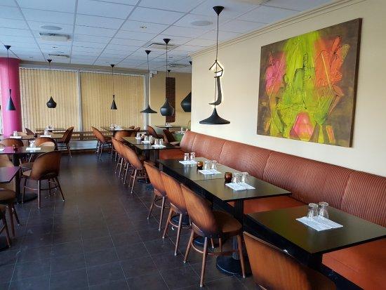 Restaurant Messob: The dining room
