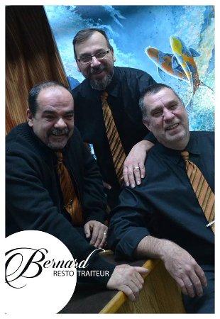 Salaberry-de-Valleyfield, Canada: Trois partenaires - Sylvain Gauthier, OvilaDavid Huard et Dominique Carrière