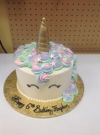 Unicorn Cake Picture Of Sara S Sweets Bakery Grand Rapids
