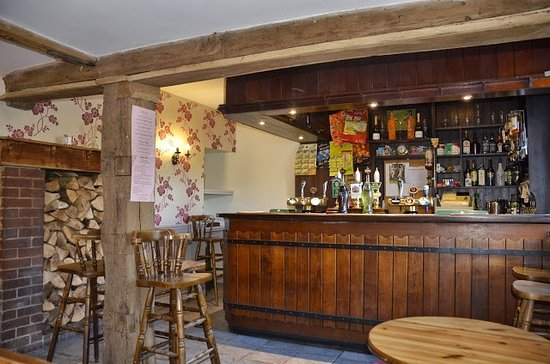 Fownhope, UK: The bar