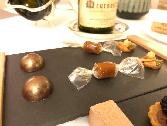 Maison Lameloise : piccoli dolcetti finali