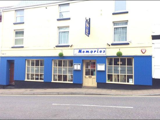 Memories restaurant: Easy to find