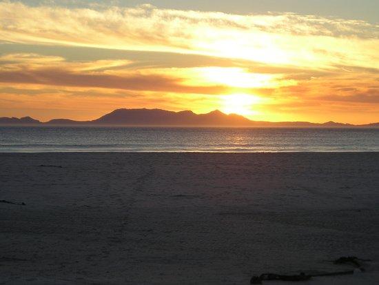 Sunset from Pringle Bay beach