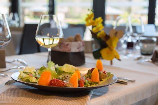 Meyrignac-l'Eglise, France : Salade Végétarienne