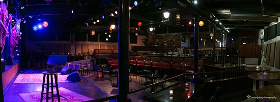 Hudson, NY: View of Club Helsinki from stage right