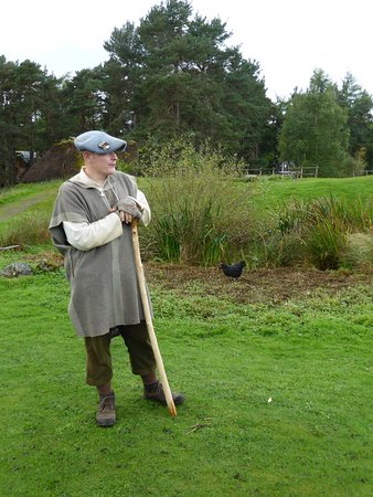 Newtonmore, UK: The guide is able discuss Outlander and life in the 1700s