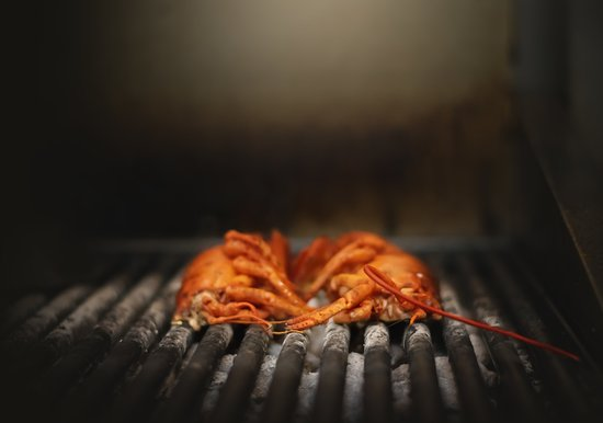 Bristol, RI: Grilled Sakonnet Lobster