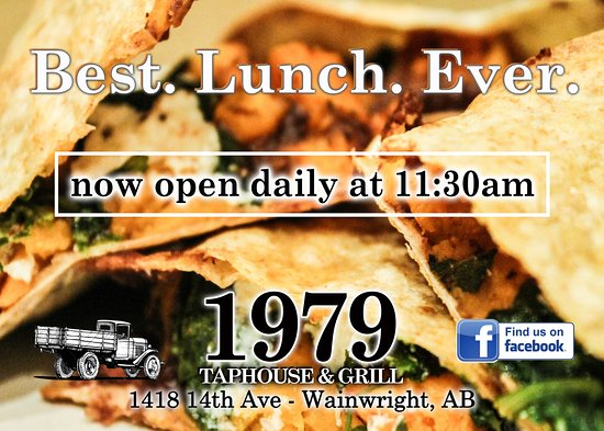 Wainwright, Καναδάς: Come See Us For Lunch,