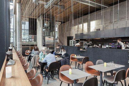 Hamar, Noruega: Café Valuta. Photo: Bjørn Krogh Andersen