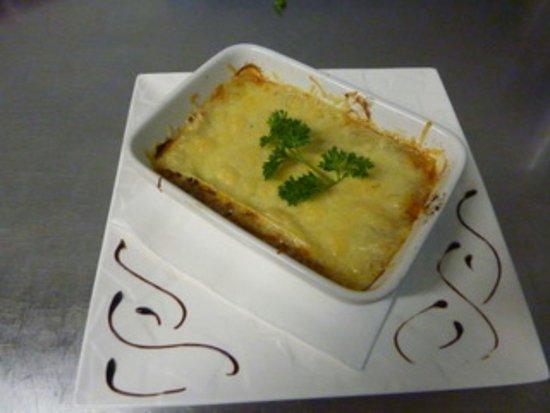 Noves, France: lasagne de boeuf