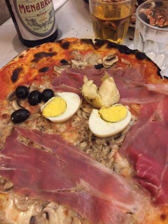 Pizzeria da Remo: Capricciosa, sublime