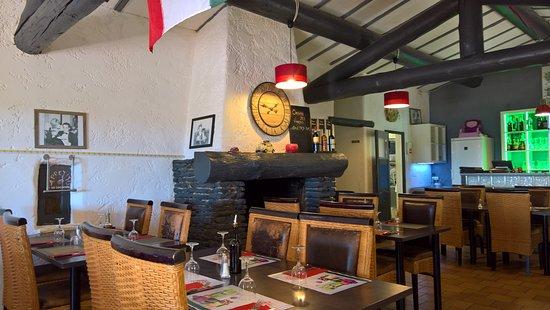 Istres, Frankrike: cheminée