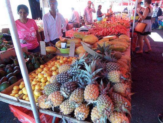 Сен-Поль, Остров Реюньон: Des fruits magnifiques et pas chers